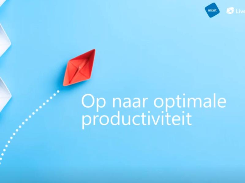 Optimale productiviteit 2